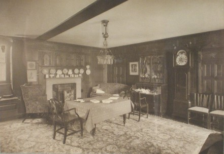 Darwin's room at Christ's 1909